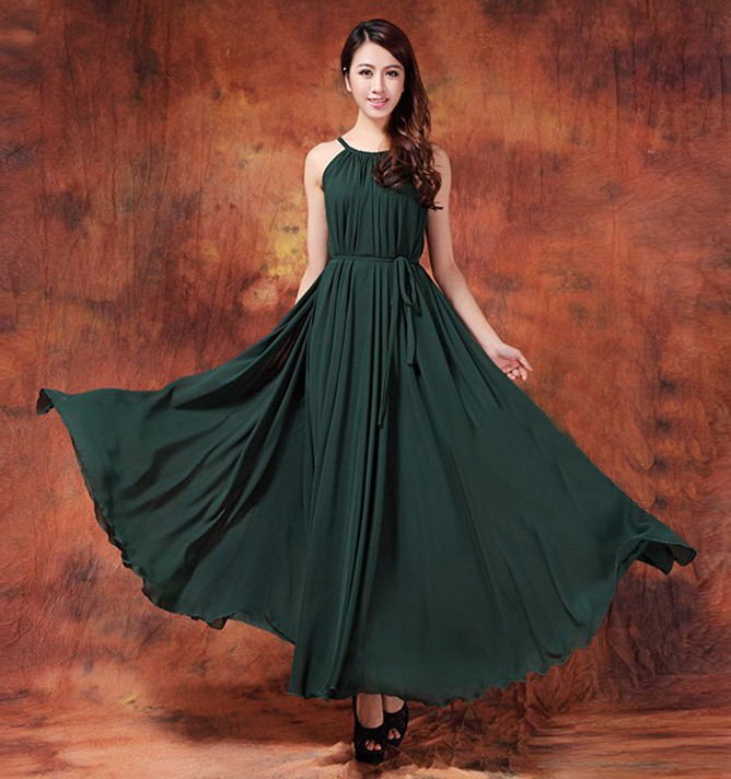 maxi dress for wedding party